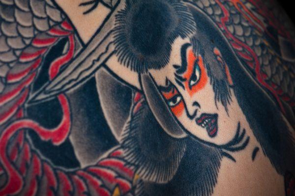 Dentowaza, irezumi, japanese tattoo