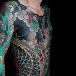 Dentowaza, irezumi, japanese tattoo