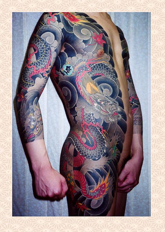 dentowaza, irezumi, japanese tattoo, tebori