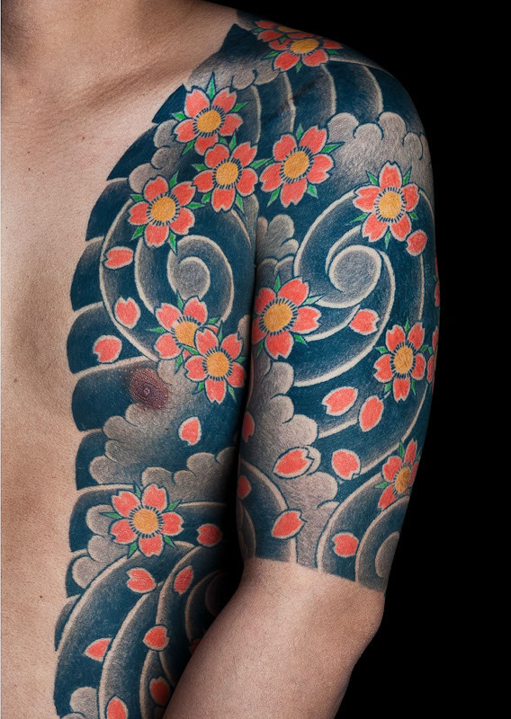dentowaza, irezumi, japanese tattoo, tebori