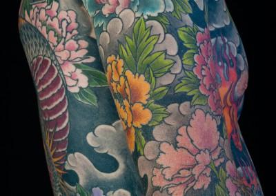 Mick tattoo, Irezumi, Japanese tattoo
