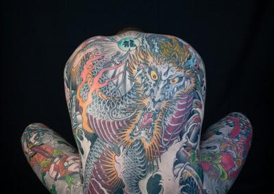 Photo by Alex Reinke, Horiyoshi III, Irezumi, Japanese tattoo