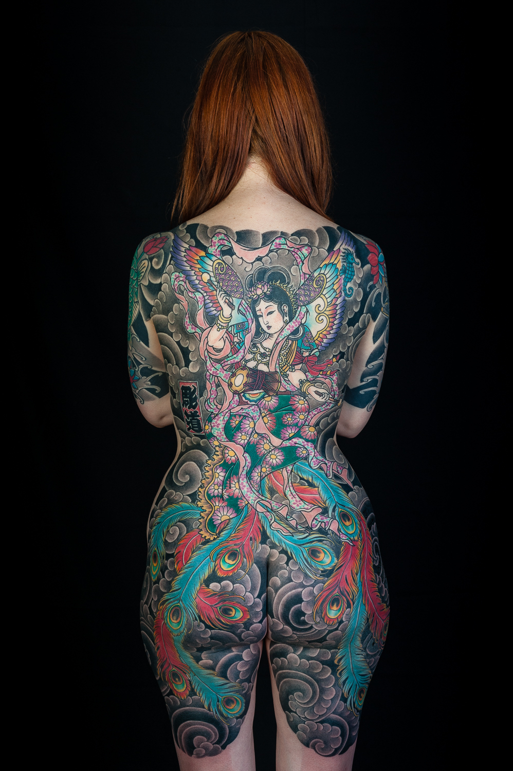 Mick the works of a legendary tattoo artist for Japanese body tattoo