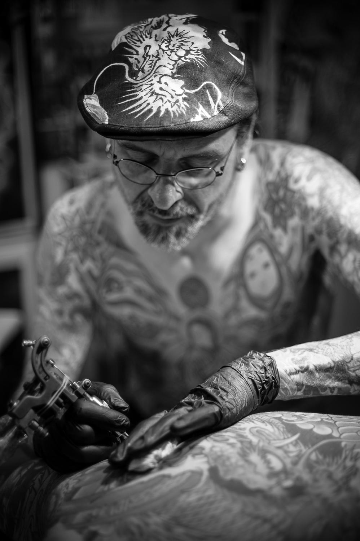 Tattoo book black art