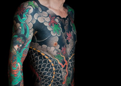 irezumi, japanese tattoo, tebori, japanese dragon